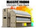 Massive Voodoo Paint Rack