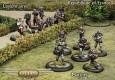 Spartan Games zeigen Infanterie für Frankreich und Antarctica.