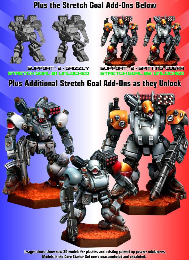 Heavy Gear Blitz Starter Set The Heavy Gear Blitz – War For