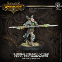 Sturgis the Corrupted — Cryx Epic Warcaster Exclusive Alternate Sculpt