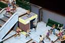 Sally 4th 28mm scale shopping mall 4