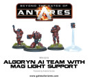 Antares Algoryn AI Team with Mag Light Support