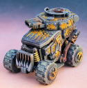 Miniature Scenery FIRE BUGGY 1