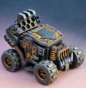 Miniature Scenery ROCKET BUGGY 1