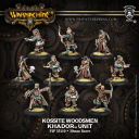 Warmachine Kossite Woodsmen