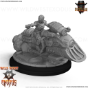 Wild West Exodus (Union) Willa Shaw (Underboss) mounted 1