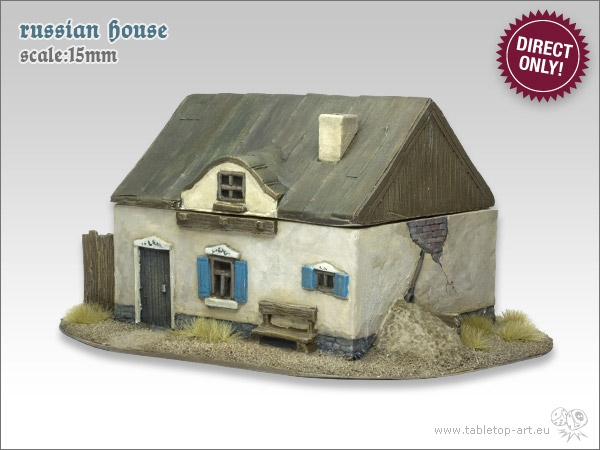 Tabletop art russische h user 15mm br ckenkopf online for Russisches haus