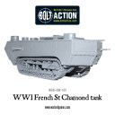 Bolt Action French St-Chamond Tank 2