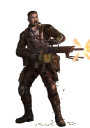 Icarus Miniatures CONCEPT ART PREVIEW Alliance Support Trooper