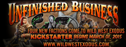 Wild West Exodus Unfinished Business Teaser 1