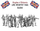 Spartan Games_Dystopian Legions Kingdom of Britannia Line Infantery Pack