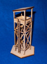 Game Craft Miniatures_15MM GUARD TOWER (MDF) 1