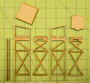 Game Craft Miniatures_15MM GUARD TOWER (MDF) 4