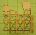 Game Craft Miniatures_20MM GUARD TOWER (MDF) 4