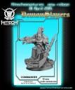 HiTech Miniatures_Demon Slayers Captain: Commander Drago