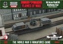 Battlefront Miniatures_Flames of War German 10.5cm FlaK Railway Car 1