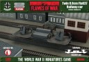 Battlefront_Flames of War German Twin 8.8cm FlaK37 Railway Car 1