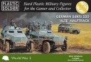 Plastic Soldier Company_15mm German SdKfz 250 alte halftrack 1