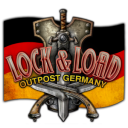 Privateer Press_Lock and Load Outpost Germany Logo