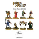 Warlord Games_Pike & Shotte Villagers