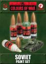 Battlefront Miniatures_Flames of War Colours of War Soviet Paint Set
