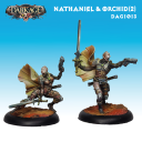 Dark Age_Dark Age Bounty Hunters- Nathaniel and Orchid (Resculpt)