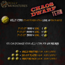 Willy Miniatures_Chaos Dwarf Team Indiegogo Campaign 8