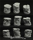 Scibor Miniatures_Celtic Ruins 32mm round bases set1