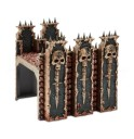 Games Workshop_Age of Sigmar Chaos Dreadhold- Fortress Wall 1
