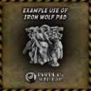 Puppets War_Iron Wolf Shoulder Pads type 'TERMOS' 2