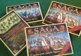 Auf der SPIEL wurden am Stand von Warehouse Games erstmals die neuen 4-Punkte-Plastikstarter für Saga vorgestellt.