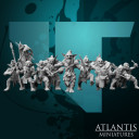 Atlantis Miniatures_Goblin Infantery Set 1