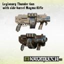 Kromlech_Legionary Thunder Gun with side-barrel Magma Rifle