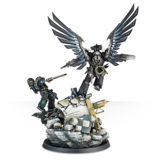 corax model height