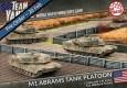 Der alternative Verlauf des kalten Krieges nimmt weiter Fahrt auf, die Amerikaner erhalten ein Platoon M1 Abrams Panzer, sowie Artillerie in Form der M109 Field Artillery Battery und Schablonen, sowie ein Token-Set.