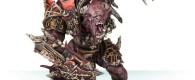 Die Diener des Blutgottes erhalten mit Skaarac the Bloodborn, einen blutrünstigen Dämon, bereit die Reiche der Sterblichen zu verwüsten.