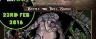 Warploque Miniatures haben den Kickstarter für Battle for Trollbridge um eine Woche nach hinten verschoben.