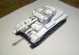 Warlord Games zeigen auf Facebook ein WiP Bild ihres Comet Tank aus Resin.