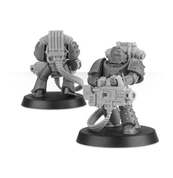 Bits Laserkanone Set Legion Lascannon Set Forgeworld