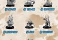 Bombshell Miniatures haben ihren KritterKins  Animal Character Miniatures Kickstarter am laufen und wurde auch schon gefundet.