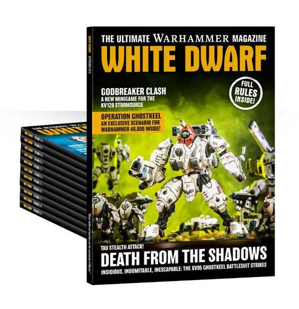 White Dwarf: Comeback als Monatsmagazin – Brückenkopf ...