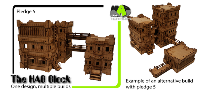 Mad Gaming: The Hab Block Kickstarter endet – Brückenkopf