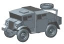 Plastic Soldier Company_Kickstarter PSC WW2 British 25 pounder artillery and tractor kit 10