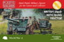 Plastic Soldier Company_Kickstarter PSC WW2 British 25 pounder artillery and tractor kit 3
