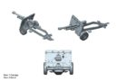 Plastic Soldier Company_Kickstarter PSC WW2 British 25 pounder artillery and tractor kit 4