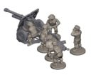 Plastic Soldier Company_Kickstarter PSC WW2 British 25 pounder artillery and tractor kit 7