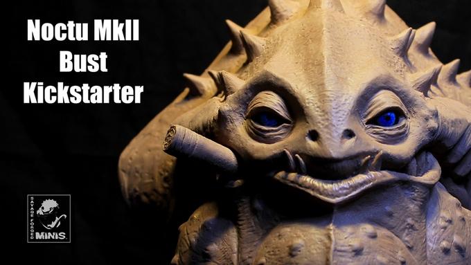 Savage Forged Minis: Noctu Mk II Kickstarter – Brückenkopf-Online