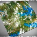 Deep Cut Studio_Wargames terrain mat – Orbital Earth 1