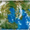 Deep Cut Studio_Wargames terrain mat – Orbital Earth 2