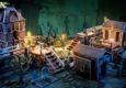 Plast Craft Games zeigen auf Facebook eine Vorschau auf weitere Sets bedruckten Geländes für Malifaux.